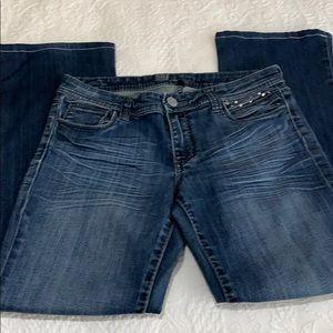Kut from the Kloth denim boot cut jeans stud sz 6